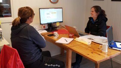 NY Klimakalkulatoren er lansert Maren og Nina Ranoien