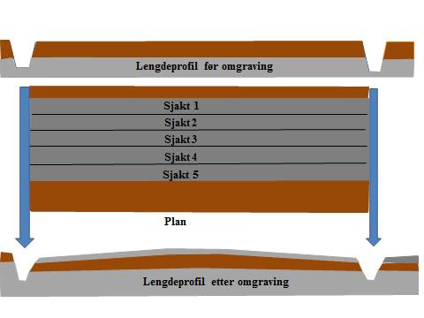 Prinsippskisse lengdeprofil omgraving ag